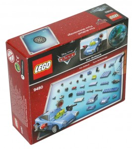 Lego 9480 - Finn McMissile (Packaging dos)