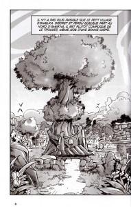 Page 1 du tome 1 du manga Wakfu