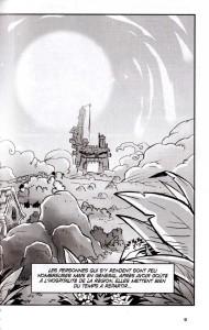 Page 2 du tome 1 du manga Wakfu