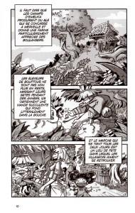 Page 3 du tome 1 du manga Wakfu
