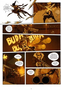 Page 3 du Comics Remington N°9 (Wakfu)