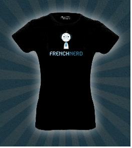 T Shirt Garçon French nerd