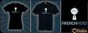 T-shirt French Nerd