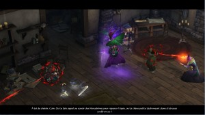 Magda menace Deckard Cain mourant s'il ne répare l'épée de Tyraël
