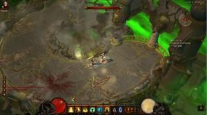 Combat contre Bélial dans Diablo 3 avec le passage dans une autre dimension