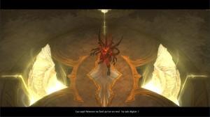 Le démon Diablo dans Diablo 3 prêt à se défendre face aux héros