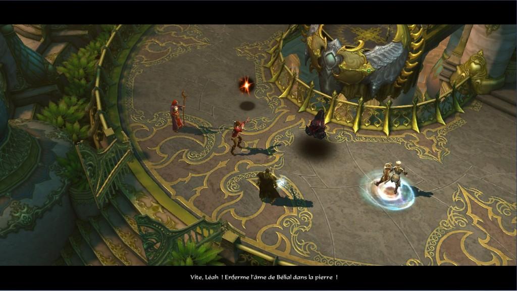 Léah enferme l'âme de Bélial dans une pierre d'âme sombre de Diablo 3