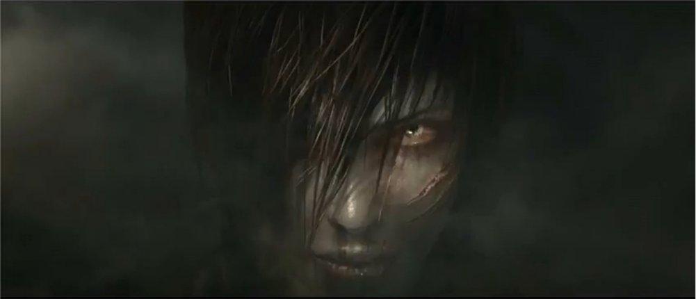 Diablo dans le corps de Léah dans Diablo 3 se préparant à attaquer le paradis
