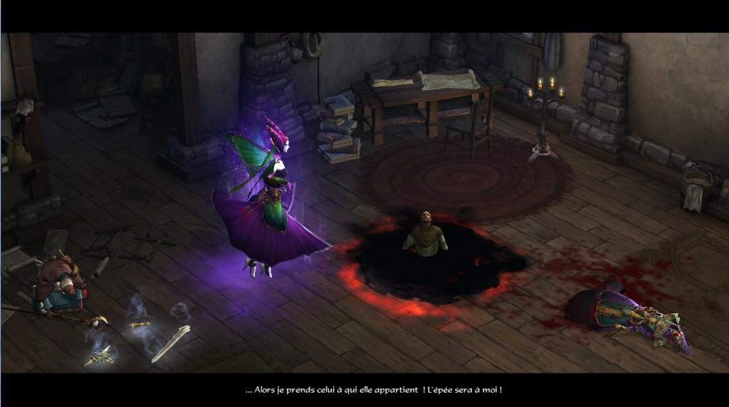 Magda, de la Cabale de Bélial enlève Tyraël dans Diablo 3 afin de prendre contrôle de son épée