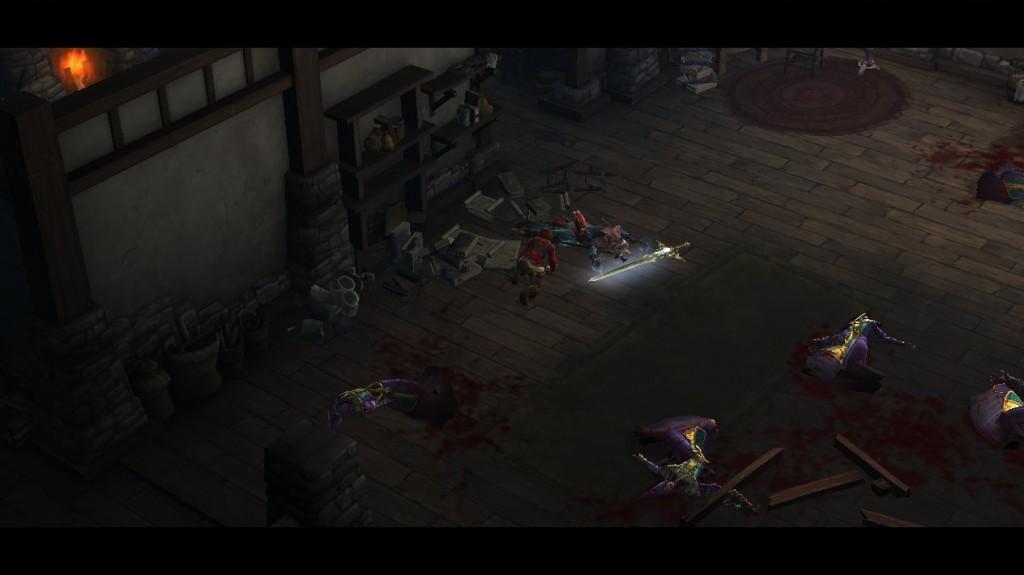 Deckard Cain, mort après avoir reforgé l'épée de Tyraël avec son pouvoir d'Horadrim