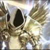 Tyraël sous sa forme d'ange dans Diablo 3 avant qu'il ne préfère devenir humain