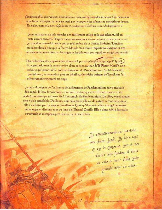 Page 2 sur la présentation de l'Eternel Conflit (livre de Cain - Diablo)