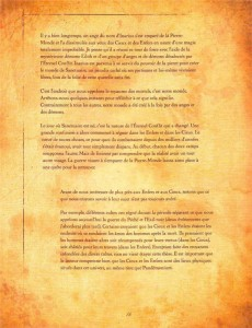 Page 3 sur la présentation de l'Eternel Conflit (livre de Cain - Diablo)