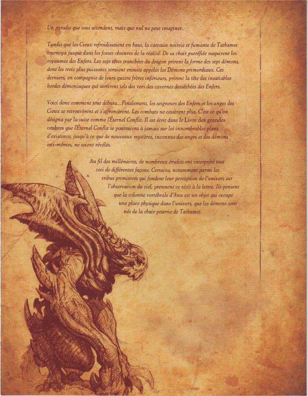 Page 3 sur la cosmonogie du monde de Diablo (livre de Cain - Diablo)