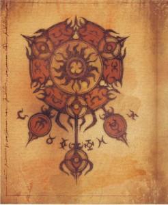 Illustration du monde de Diablo (livre de Cain - Diablo)