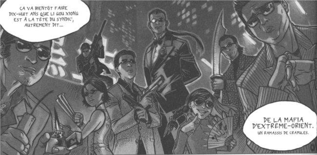 Xiong Mao est la fille batarde du chef du syndicat de la mafia mais certain aimerait qu'elle reprenne la place de son père (Freaks' Squeele)