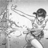 Xiong Mao teste une arme avant de forger une arme pour Chance (Freaks' Squeele)