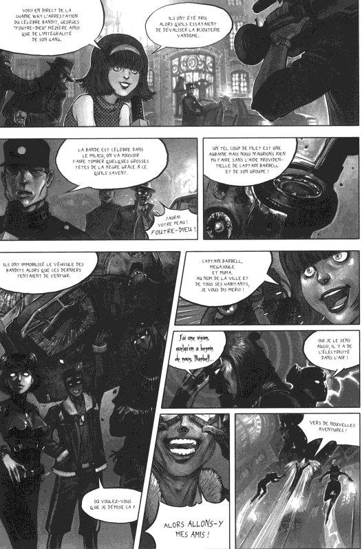 Page 1 du volume 1 de Freaks' Squeele : Etrange Université