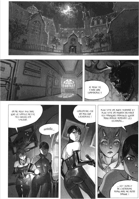 Page 2 du volume 1 de Freaks' Squeele : Etrange Université