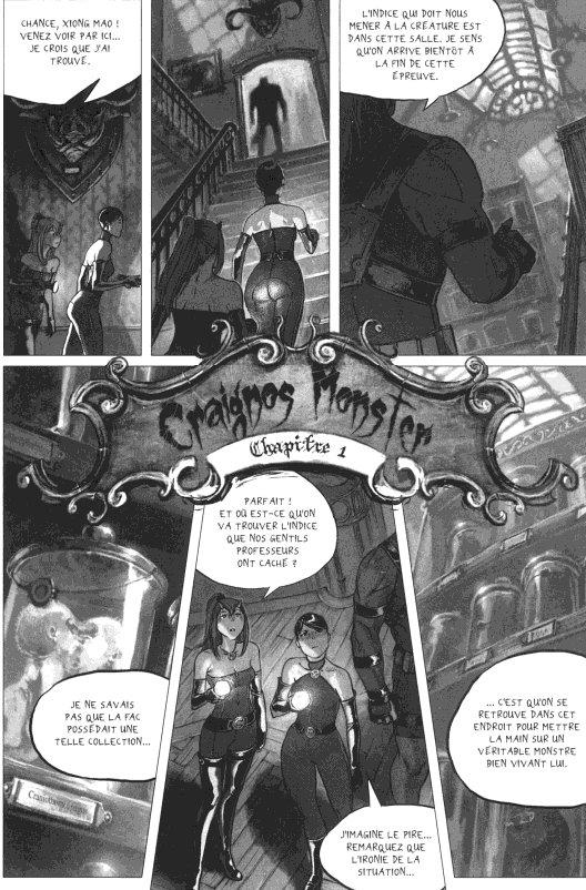 Page 3 du volume 1 de Freaks' Squeele : Etrange Université
