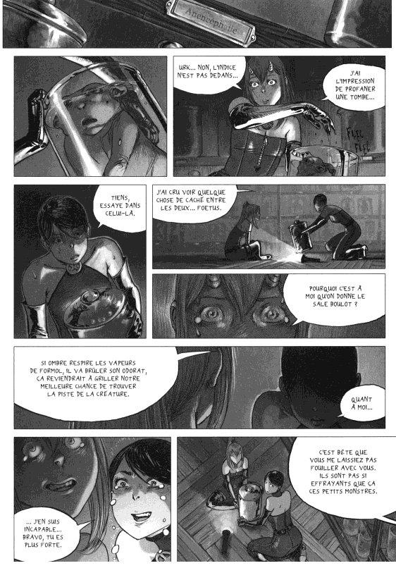 Page 4 du volume 1 de Freaks' Squeele : Etrange Université