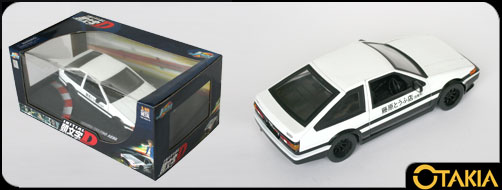 Initial D : Toyota Trueno AE 86 - ech 1/18 (Jada Toys)