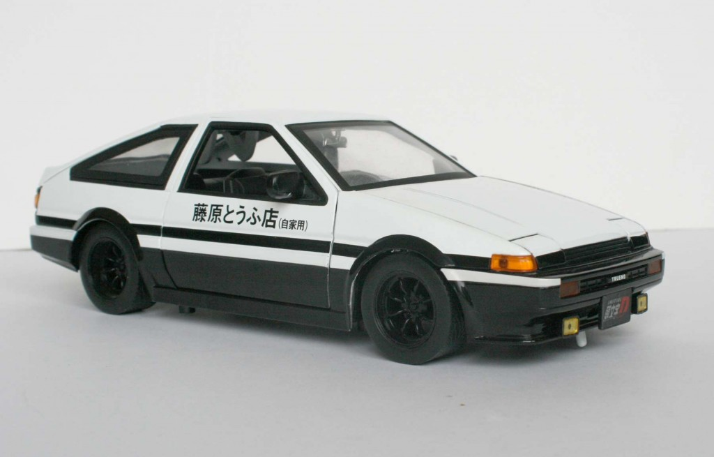 initial d toyota trueno ae 86 ech 1 18 jada toys. Black Bedroom Furniture Sets. Home Design Ideas