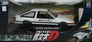 Packaging face de la Toyota Trueno AE 86 - ech 1/18 (Initial D - Jada Toys)