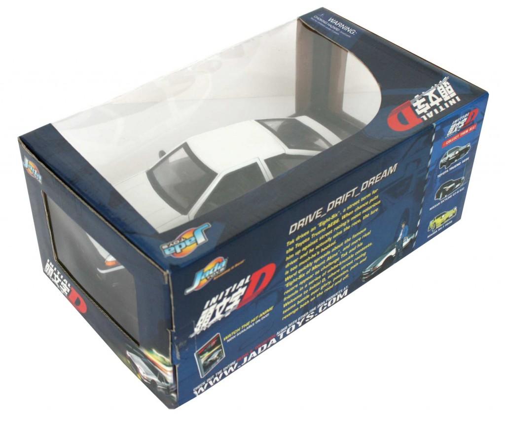 Dos du Packaging de la Toyota Trueno AE 86 - ech 1/18 (Initial D)