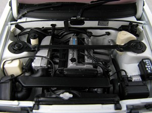 Le moteur de la AE 86 est celui d'origine