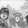 Lei Fong, Valkyrie, Sablon, Xiong Mao et Ombre apprennent que Chance va probablement mourir lors du combat contre Saint Ange (Freaks' Squeele)