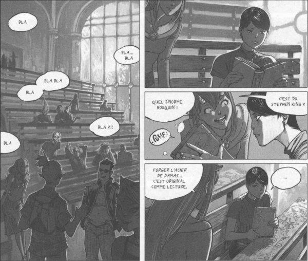 Chance rencontre Xiong Mao pour la première fois dans un amphithéatre de la F.E.AH.