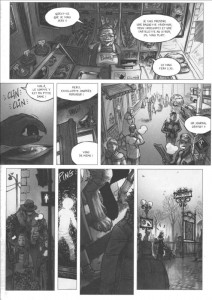 Page 1 du volume 2 de Freaks' Squeele
