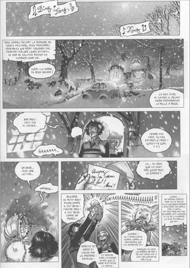 Page 1 du tome 3 de Freaks' Squeele : le tango de la mort