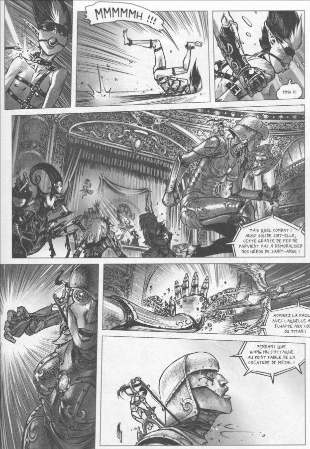 Page 3 du tome 3 de Freaks' Squeele : le tango de la mort