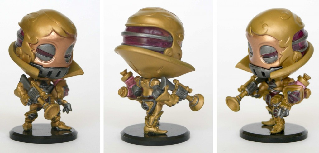 Figurine Krosmaster : Gaspard Fay le Steamer (Wakfu AFF 1.1)