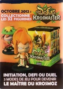 Packaging latéral gauche de la figurine Krosmaster de Gaspard Fay le Steamer (Wakfu AFF 1.1)