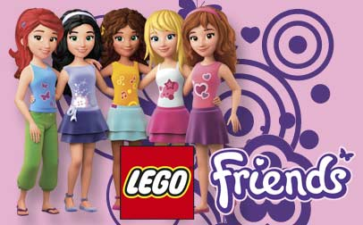 Lego Friends Girls
