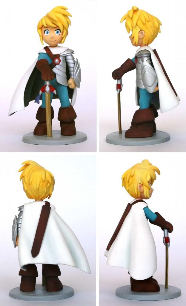 Danaël  : Figurine en résine (Les Légendaires)