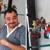 figurine Danael pour Patrick Sobral exposée dans son bureau