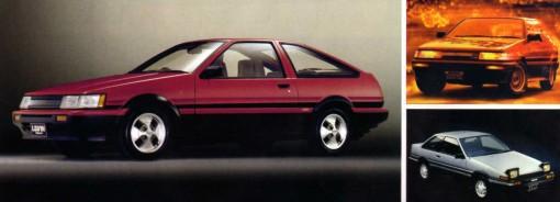 Toyota Levin et Trueno