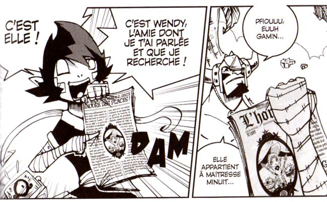 Pym découvre que Wendy est le premier prix de Mastercoach