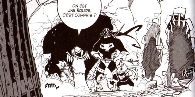 Pym libère les prisonniers de Nazkatraz