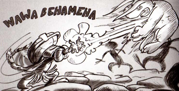 parodie kamehameha