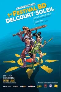 Festival Delcourt Soleil (Affiche)