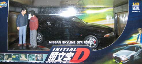 Version collector de Nissan Skyline GTR R32 d'Initial D (Jada Toys)