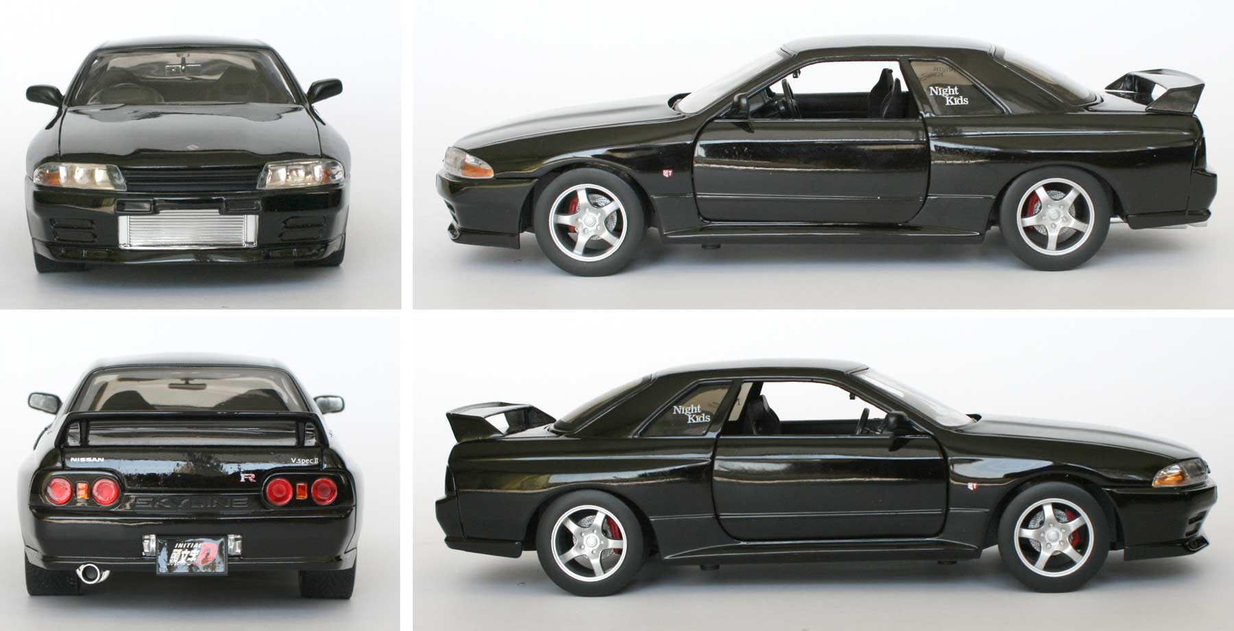 Initial D : Nissan GTR R32 - ech 1/18 (Jada Toys)