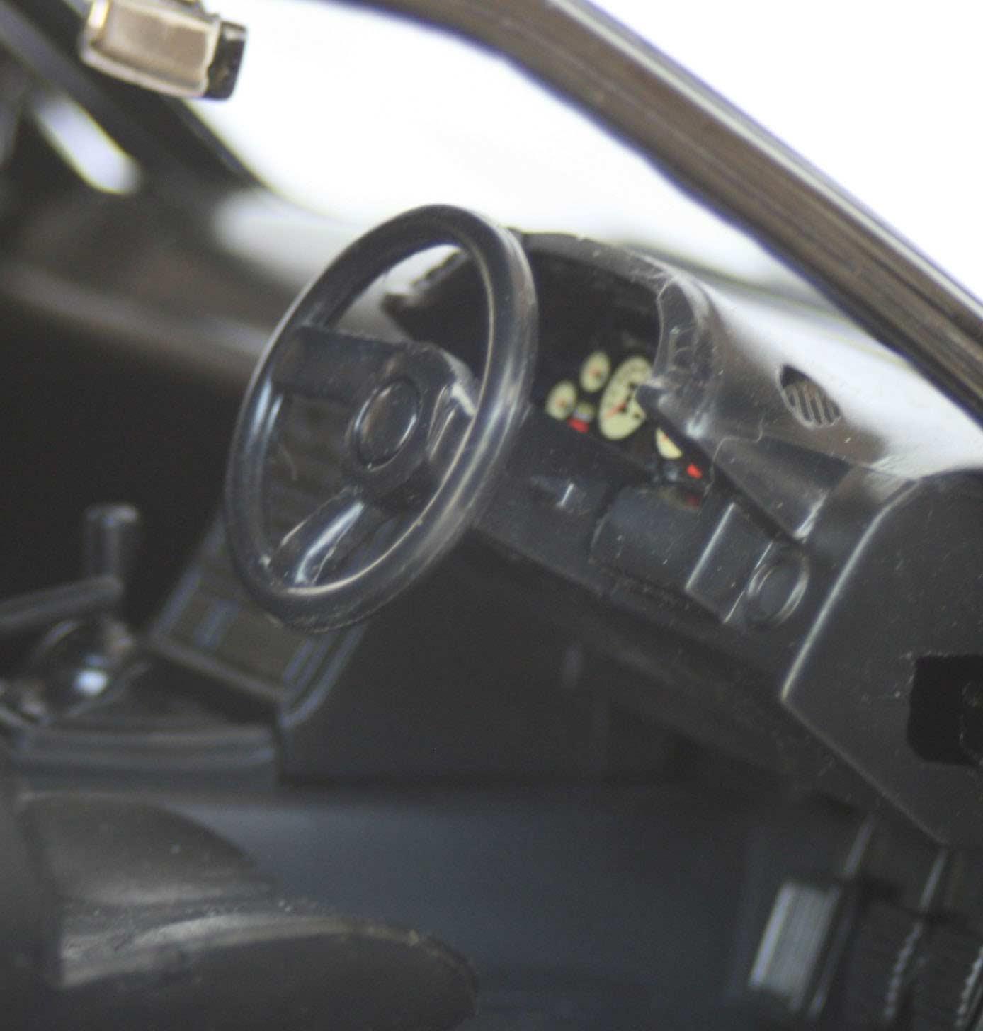 Le volant est celui de la version standard de la GTR