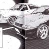 Dans le manga il y a des autocollants sous les rétros viseurs de la GTR