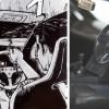 Le volant est celui de la version standard de la GTR et non celui du manga